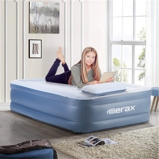 Link to Twin Size Airbed Mattress with Pillow and Built-in Pump Similar Items in Camping & Hiking Gear