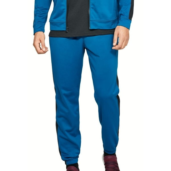 Under Armour Mens Unstoppable Track Pants Teal Blue Size XL Loose Jogger. Opens flyout.