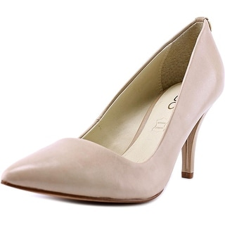 Aldo Nydiven Women  Pointed Toe Leather Nude Heels