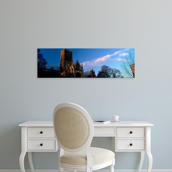 Easy Art Prints Panoramic Images's 'A Cathedral, Lincoln Cathedral, Lincolnshire, England, United Kingdom' Canvas Art