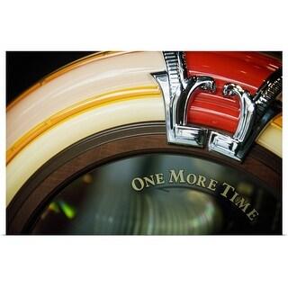 """Close-up of a jukebox"" Poster Print"
