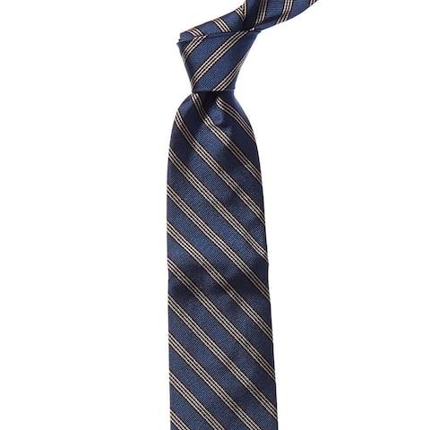 Bonobos Blue Nevis Stripe Silk Tie - os