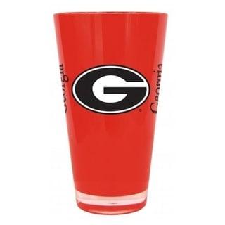 Georgia Bulldogs 20 Oz Insulated Plastic Pint Glass