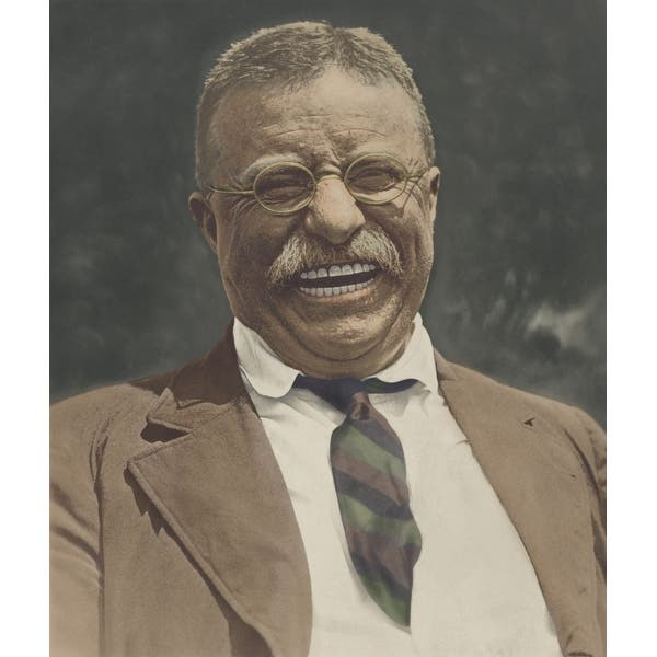 Shop Black Friday Deals On Theodore Roosevelt Laughing History Overstock 24401286