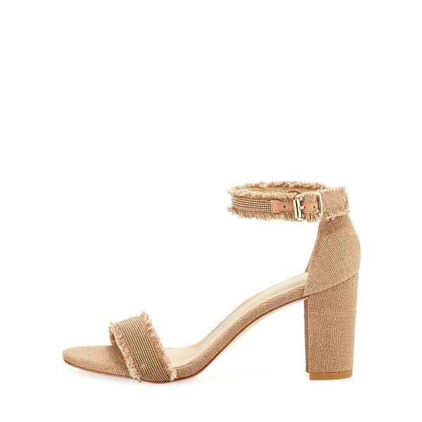 Stuart Weitzman Womens chaingang Open Toe Casual Ankle Strap Sandals - 9.5