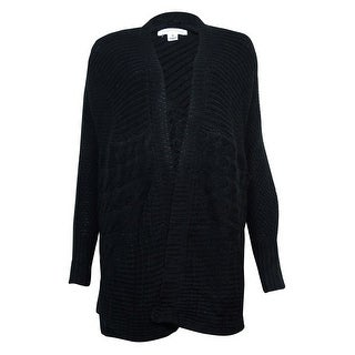 John Paul Richard Women's Mix-Knit Dolman Open Cardigan