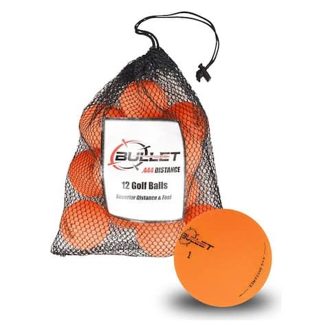 Bullet Golf Balls - Orange Dozen