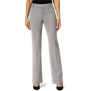 Charter Club Patterned Flare Leg Trousers Pants - 16