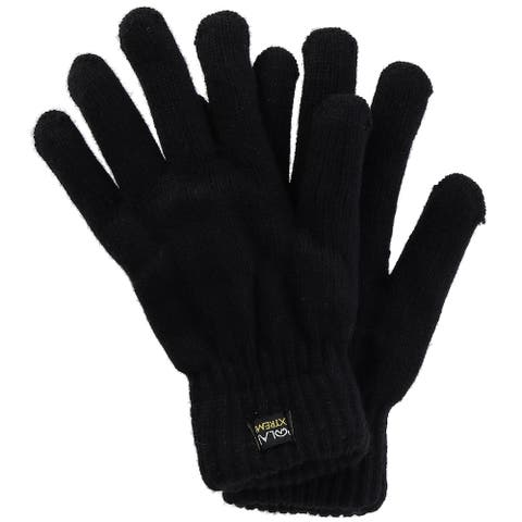 Polar Extreme Men's Insulated Knit Thermal Gloves