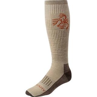 Legendary Whitetails Men's HuntGuard Nanotec OTC Sock - Bark