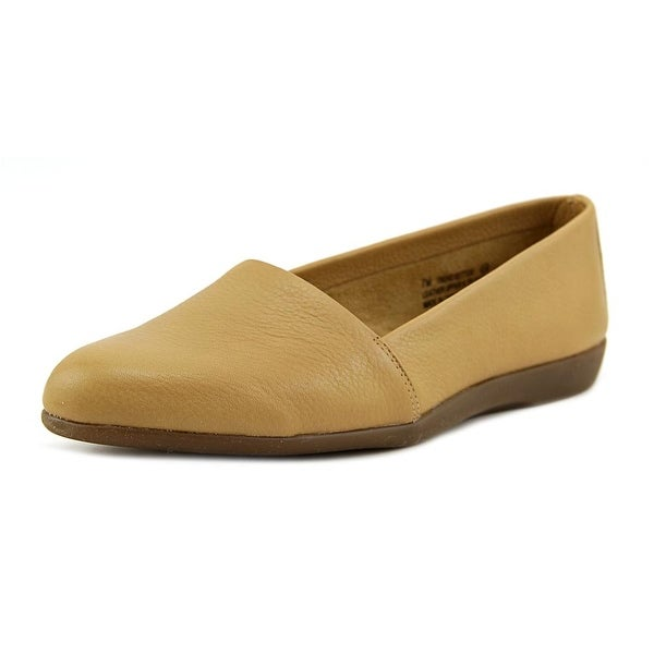 Aerosoles Trend Setter Women Round Toe Leather Tan Loafer