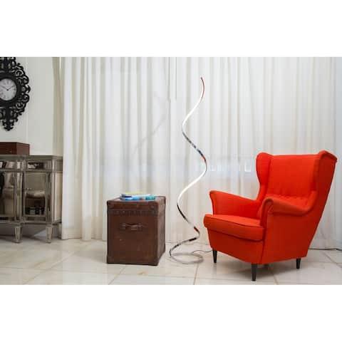 Finesse Decor Modern Spiral LED- Floor Lamp