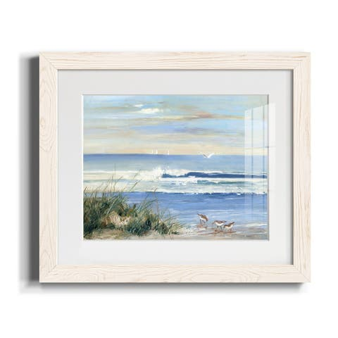 Beach Combers-Premium Framed Canvas - Ready to Hang