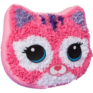 Purr-Fect Pillow - PlushCraft Fabric By Number Kit
