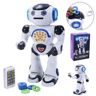 Costway 1018I Infrared RC A.I Robot Intelligent Smart Phone Remote Control Toy Gift