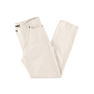 Lauren Ralph Lauren Womens Plus Corduroy Pants Straight Leg Slimming Fit