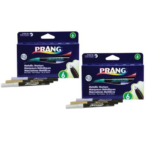 Prang (2 pk) prang metallic art markers 80598bn