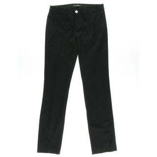 Lauren Ralph Lauren Womens Twill Stretch Dress Pants