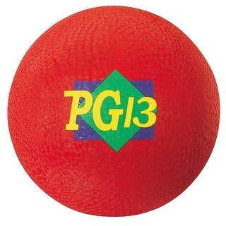 Playground Ball Red 13 In 2 Ply
