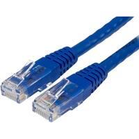 Startech - C6patch1bl 1Ft Cat6 Blue Molded Rj45 Utpngigabit Cat6 Patch Cord