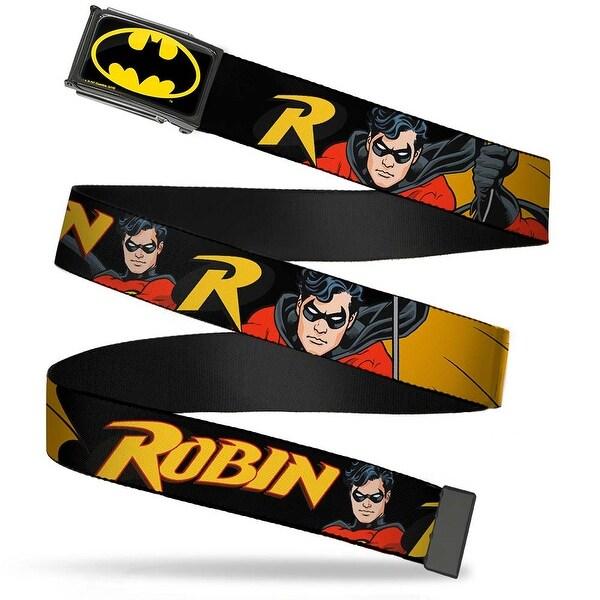 Batman Fcg Black Yellow Chrome Robin Red Black Poses Black Webbing Web Web Belt