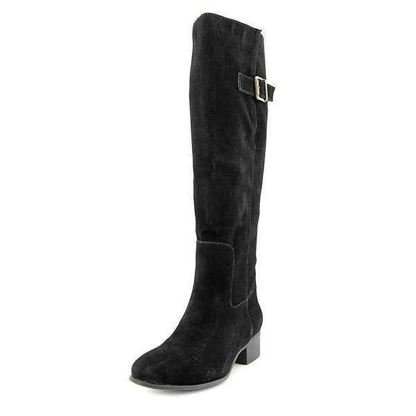 Steve Madden Womens Loren Leather Closed Toe Knee High Fashion Boots