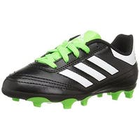 Adidas Unisex Goletto Vi Fg J, Black/White/Green