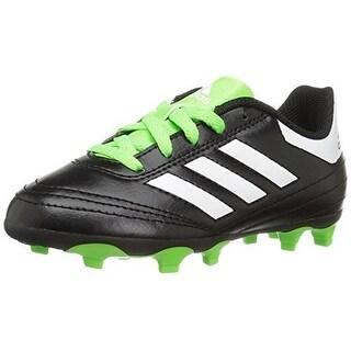 Adidas Unisex Goletto Vi Fg J, Black/White/Green
