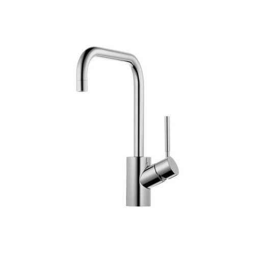 Jado 814302.100 Borma Square Monoblock Bathroom Sink Faucet Polished Chrome - Polished chrome