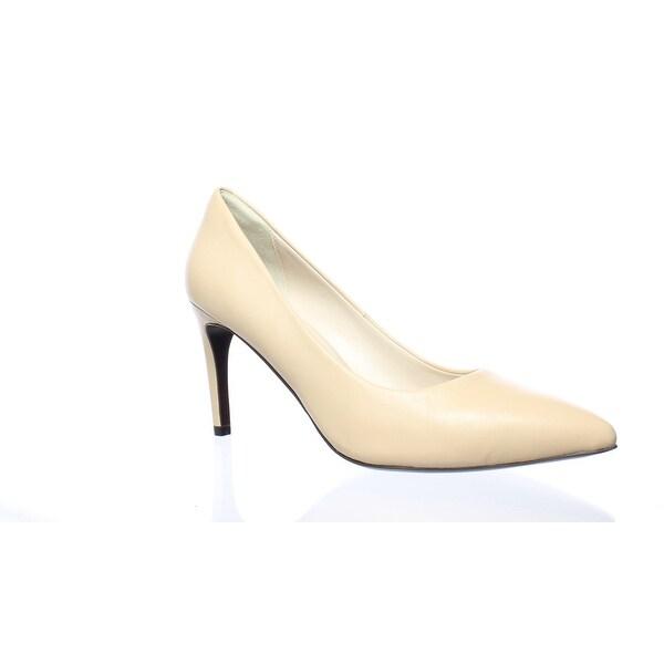 c82d54f8a0 Shop Cole Haan Womens Amelia Nude Leather Pumps Size 10.5 - On Sale ...