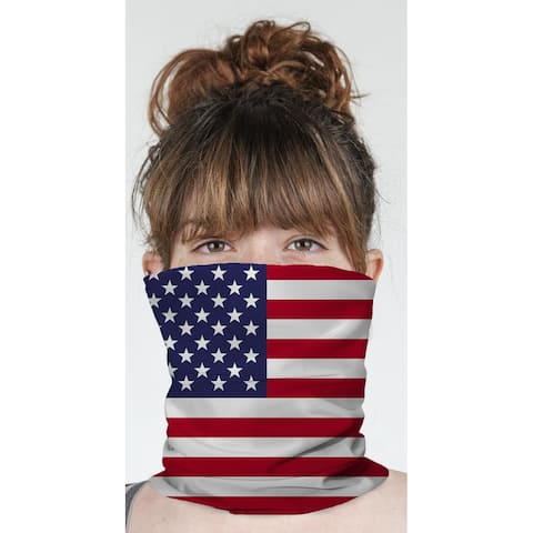 "AMERICA Neck Gaiter By Kavka Designs - 10"" x 18"""