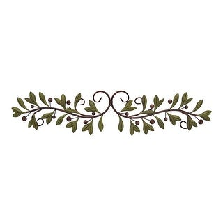 Metal Olive Branch Over The Door Wall Decor 47 Inch Wide Topper Free Shipping On Orders 45 18219346
