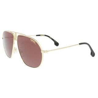 Carrera BOUNDS 0J5G-W6 Gold Aviator Sunglasses - 60-12-145