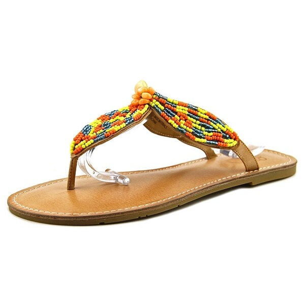 Mojo Moxy Native Women Open Toe Synthetic Multi Color Thong Sandal