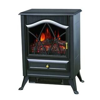 Comfort Glow ES4215 Ashton Electric Stove Heater - Black