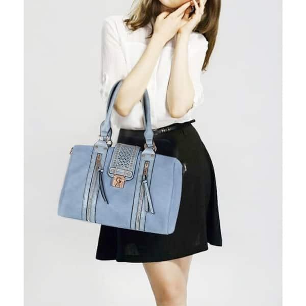 de08faf06140 Shop MKF Collection Lorriene Satchel Shoulder Bag by Mia K. Farrow ...