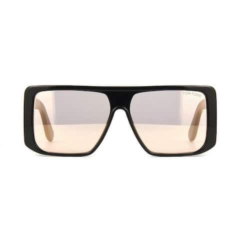 Tom Ford Mirrored Rikers Unisex Frames - XL