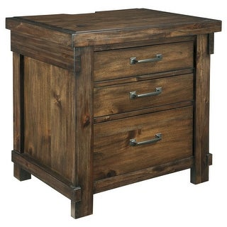 Ashley Furniture B718-93 Lakeleigh Three Drawers Night Stand