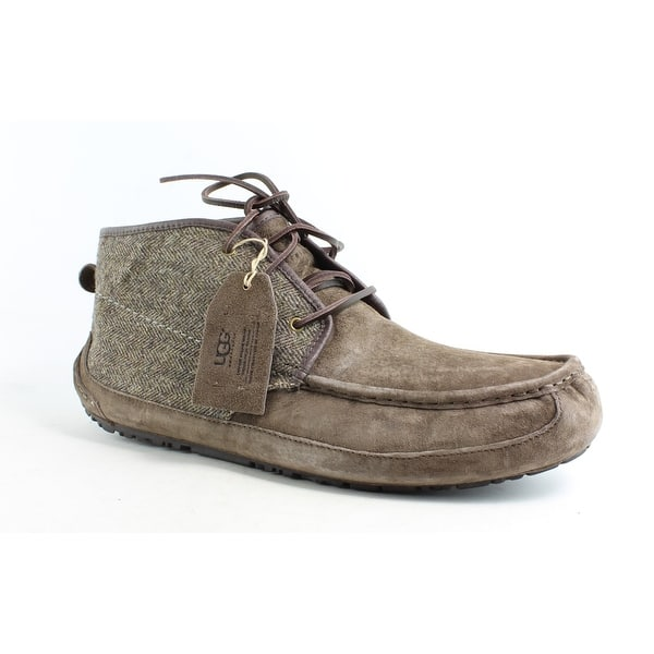 7563a6024 Shop UGG Mens Lyle Tweed Stout Tweed Snow Boots Size 18 - Free ...
