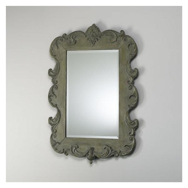 """Cyan Design 1968 35"""" Vintage French Mirror - N/A"""