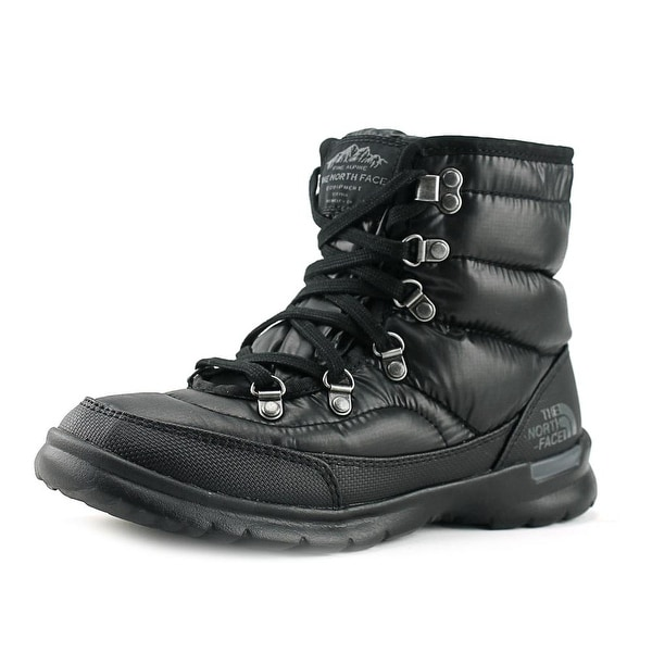 The North Face Thermoball Lace II Shiny TNF Black/Iron Gate Grey Snow Boots