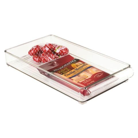 "InterDesign 70230 Fridge Binz Tray, 8"" x 14.5"" x 2"""