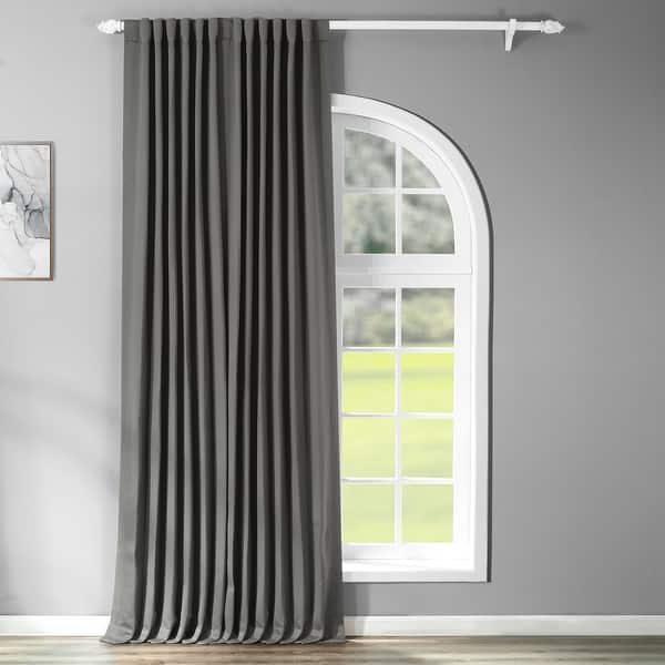 Exclusive Fabrics Extra Wide Thermal Blackout 108 Inch Curtain Panel 100 X 108 On Sale Overstock 9315580