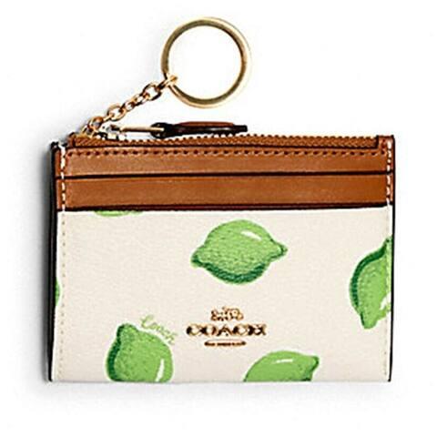 Coach 3302 Mini Skinny ID Case Lime