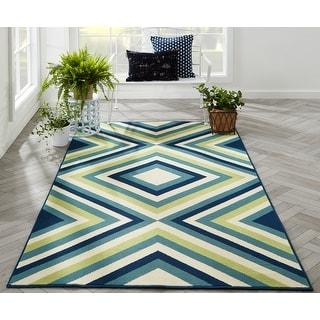 Link to Carson Carrington Traskanda Multicolor Indoor/ Outdoor Area Rug Similar Items in Transitional Rugs