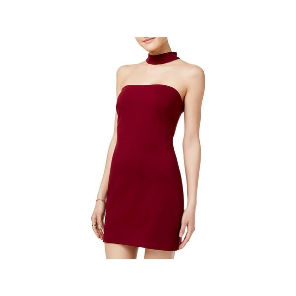 5bb5fd5a275 Shop Speechless Womens Juniors Bodycon Dress Mini Choker - 13 - Free  Shipping On Orders Over  45 - Overstock - 27588985