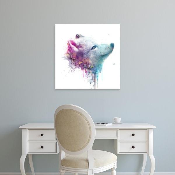 Easy Art Prints VeeBee's 'Fox' Premium Canvas Art
