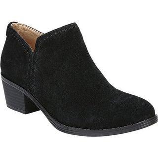 Naturalizer Women's Zarie Bootie Black Suede Leather