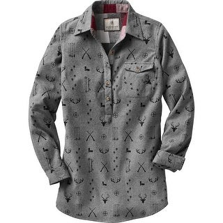 Legendary Whitetails Ladies Firelight Popover Flannel Tunic