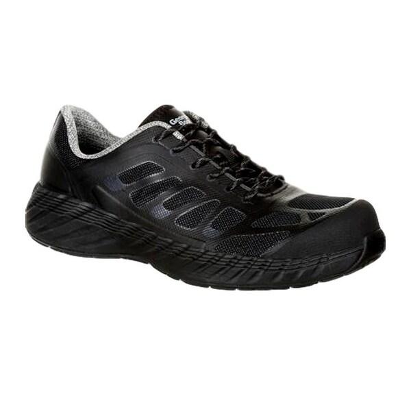Georgia Boots Work Shoes Mens Durable Reflex Composite Black